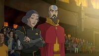 Lin and Tenzin
