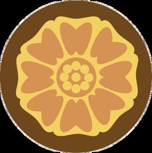 White lotus tile icon