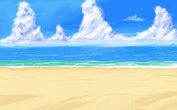 Uncharted Island Beach