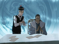 Tarrlok and the council page
