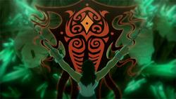 Vaatu in Korra's hallucination