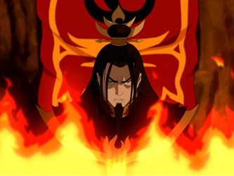 Ozai angry