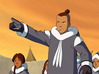 Sokka banishes