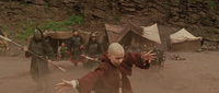 Film - Aang at Earth Kingdom prison