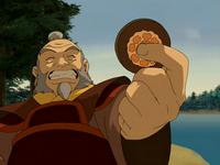 Iroh's lotus tile