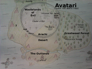 Avataria Lower half World Map (With text)