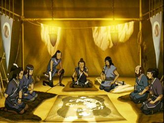 Berkas:Southern Water Tribe warriors meeting.png