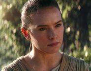 Daisy Ridley as Rey (TFA)