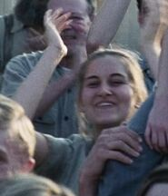 Kelly Lynn Reiter as District 12 Girl