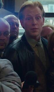 Hubertus Geller as German Reporter