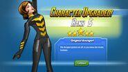 Character Upgraded! Wasp Rank 5