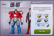 Capbuster Iron Man