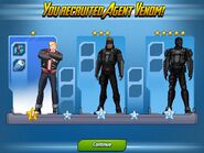 Agent Venom ranks