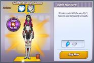 Galactic Assassin Gamora