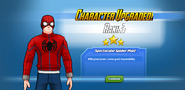 Character Upgraded! Spider-Man Rank 3