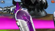 Gamora in her escape pod