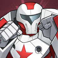 Crimson Dynamo Armor Wars Icon