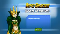 Outfit Unlocked Supreme Enchantress