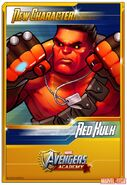 New Character Card Red Hulk