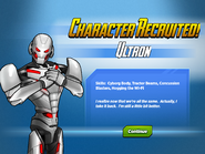 Character Recruited Ultron