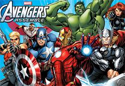 Avengers Assemble promotional poster