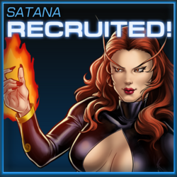 Satana Recruited