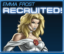 Emma Frost Recruited Old