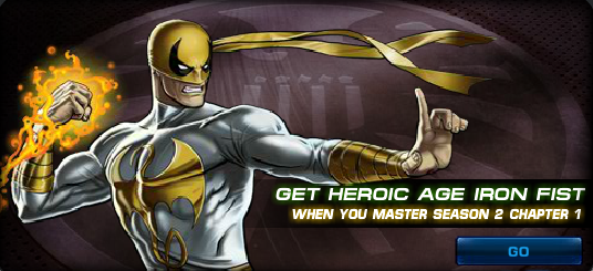 NAT Heroic Age Iron Fist