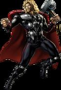 Avengers Thor Right Portrait Art