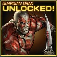 Guardian Drax Unlocked