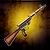 Restored STEN Submachine Gun