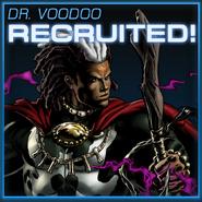 Doctor Voodoo Recruited