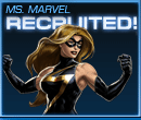 Ms. Marvel Recruited Old