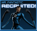 Mr. Fantastic Recruited Old
