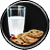 Cookies and Milk Task Icon