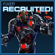 Fixer Recruited