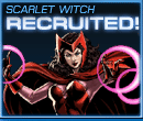 Scarlet Witch Recruited Old