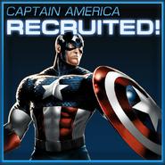 Captain America Recruited