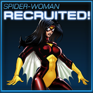 Spider-Woman Recruited
