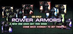 NaT-On Sale Power Armors