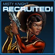 Misty Knight Recruited