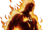Human Torch Dialogue 1