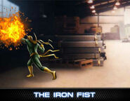 Iron Fist Level 2 Ability