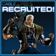 Cable Recruited