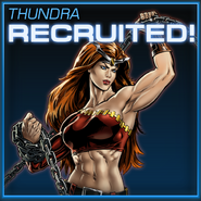 Thundra Recruited