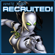 White Tiger Recruited