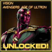 Avengers Age of Ultron Vision Unlocked