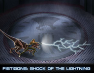 Chase Stein Level 1 Ability (Shock of the Lightning)