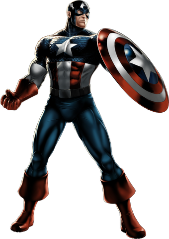 File:Captain America Portrait Art.png