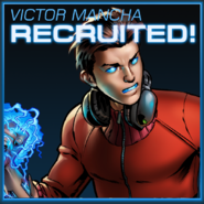 Victor Mancha Recruited
